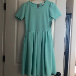 LulaRoe Sea Green Dress